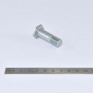 Flachkopf-6kt-Schraube, galv M12x37/12 / 89.4.023