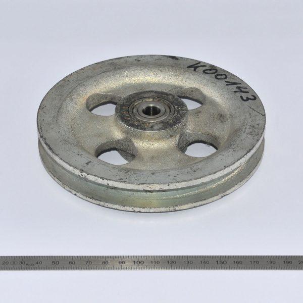 Seilrolle D=160mm H=30mm Ausf. Stahl