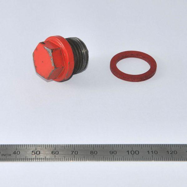Oelablass-Schraube mit Dicht ring