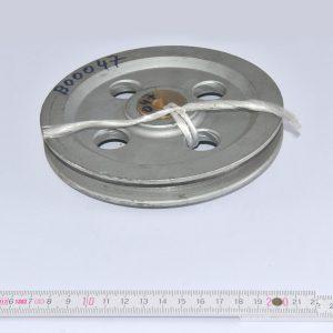 BÖCKER Seilrolle D=155mm mit Bronzelager