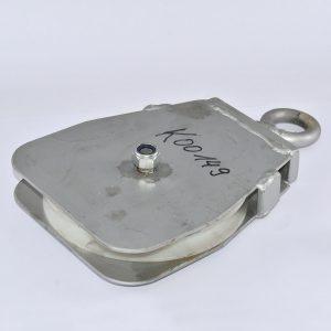 KLAAS Umlenkrolle Stahl kpl. mit Kunststoffrolle