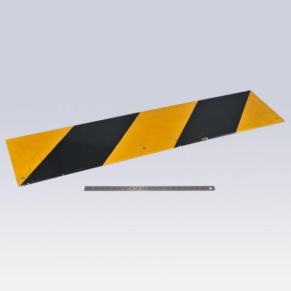 KLAAS Warntafel 530x130mm an Kopfstück