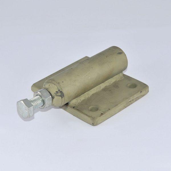 KLAAS Halterung für Gasdruckfeder Drehkranz mit Kettenantrieb