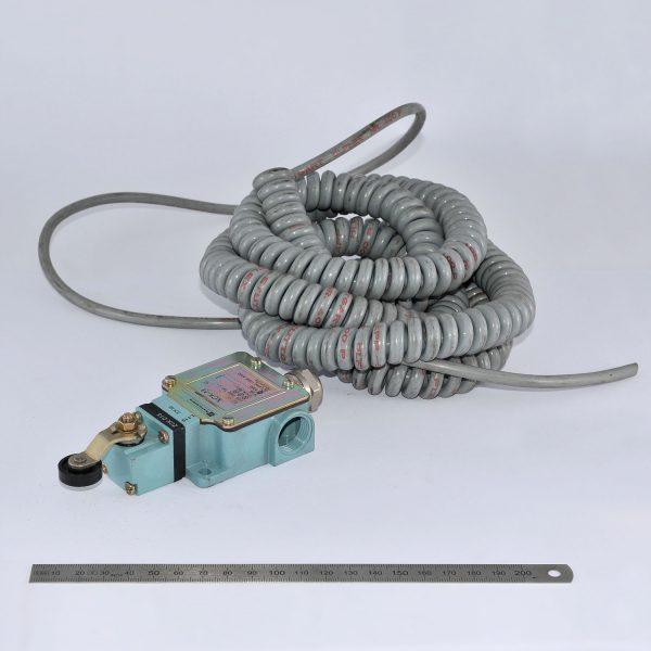 KLAAS Endschalter mit Spiralanschlusskabel 4-pol.