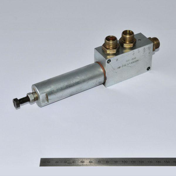 KLAAS Hydr.Ventil für Doppel-Pumpe