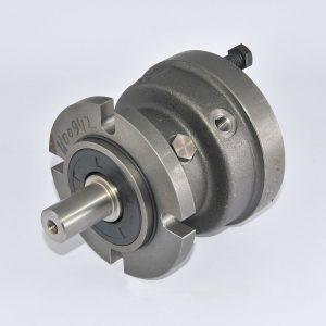 KLAAS Hydraulik-Bremse zu Schienenwinde