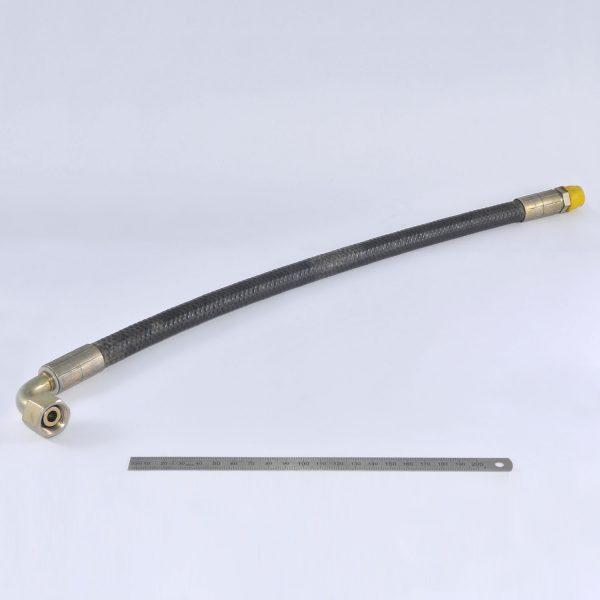 KLAAS Druckschlauch einseitig 90o abgebogen D=12x500mm