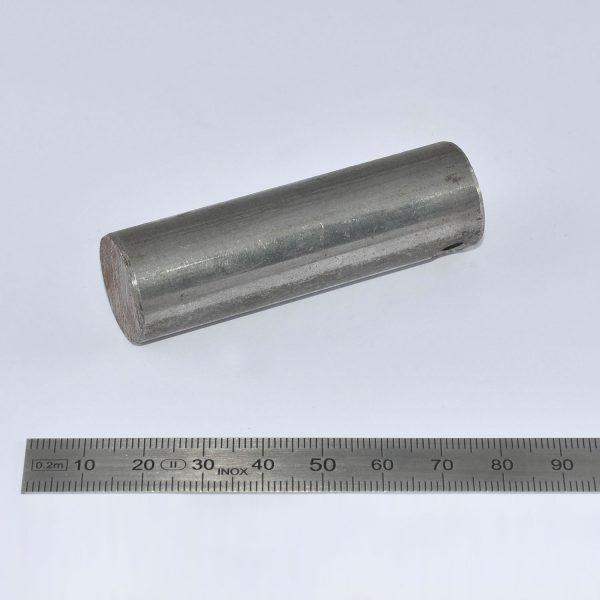 KLAAS Anschweissbolzen zu Kopfstück K5+K6 D=20mm für Alu-Stütze