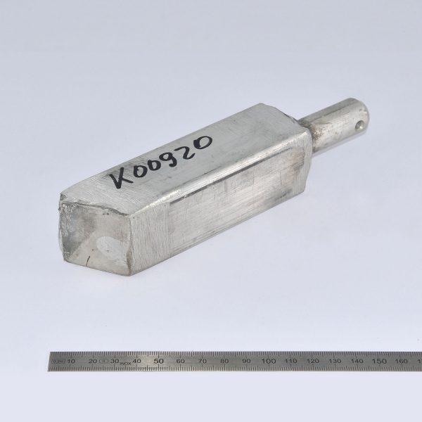 KLAAS Anschweissprofil für Alu-Kopfstück